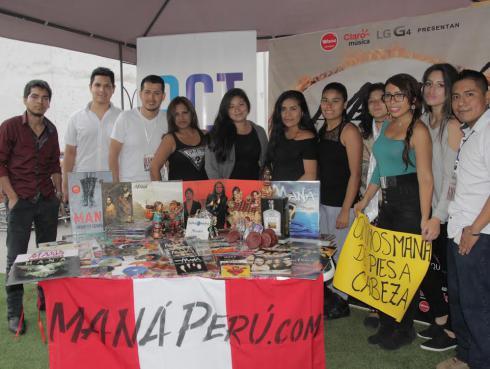 Fans de Maná prepararon regalos personalizados para recibirlos