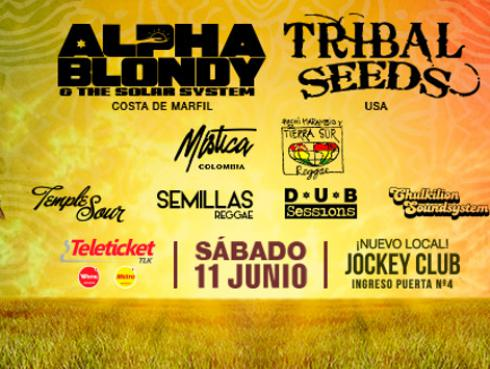 ¡Festival Reggae Sessions 2016 cambia de local!