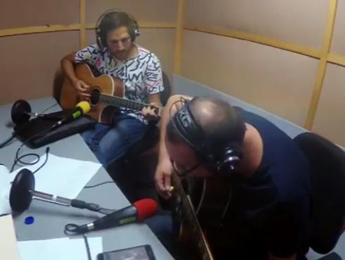 #Fogatera: El Marshall y Piccini interpretaron 'Flaca', de Andrés Calamaro