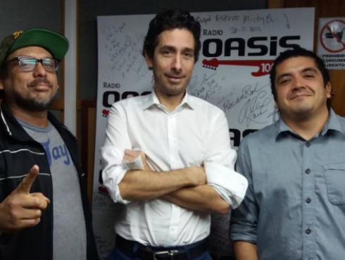 #Fogatera: Bareto y Francois Peglau interpretaron 'Vasos Vacíos', de Los Fabulosos Cadillacs