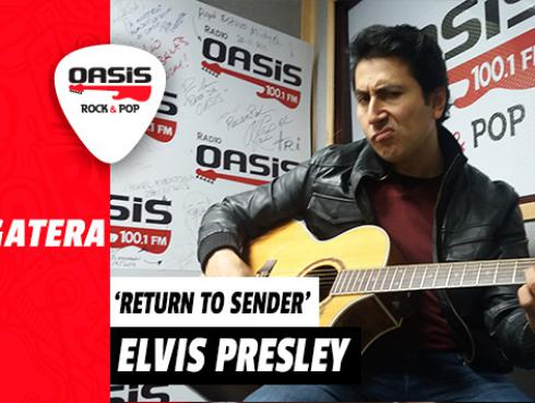 #Fogatera: Armando Machuca interpretó 'Return To Sender', de Elvis Presley