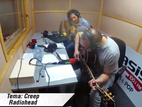#Fogatera: El Marshall y Piccini interpretaron 'Creep', de Radiohead