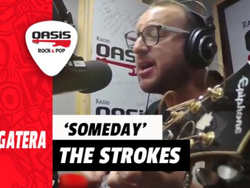 #Fogatera: El Marshall interpretó 'Someday' de The Strokes en el Oasis (VIDEO)