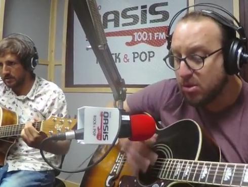 #Fogatera: El Marshall y Piccini interpretaron 'Alguien Que Bese Como Tú', de PSV