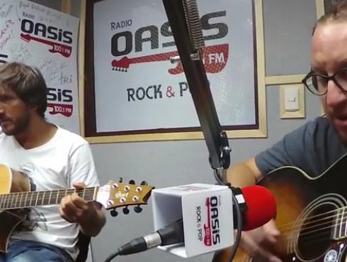 #Fogatera: El Marshall y Piccini interpretaron 'All Apologies', de Nirvana