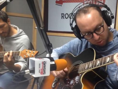 #Fogatera: El Marshall y Piccini interpretaron 'Calaveras y diablitos', de Los Fabulosos Cadillacs