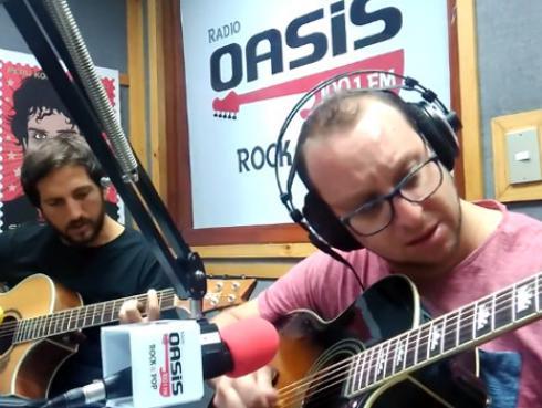 #Fogatera: El Marshall y Piccini interpretaron 'En la ciudad de la furia' de Soda Stereo [VIDEO]