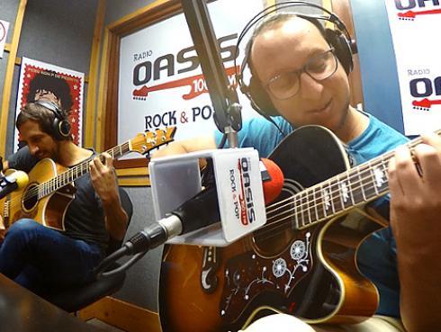 #Fogatera: El Marshall y Piccini interpretaron 'Llaman a la puerta' de Tierra Sur [VIDEO]