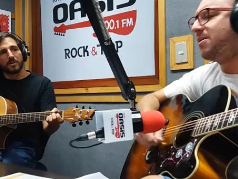 #Fogatera: El Marshall y Piccini interpretaron 'Tu amor' de Charly García & Pedro Aznar [VIDEO]