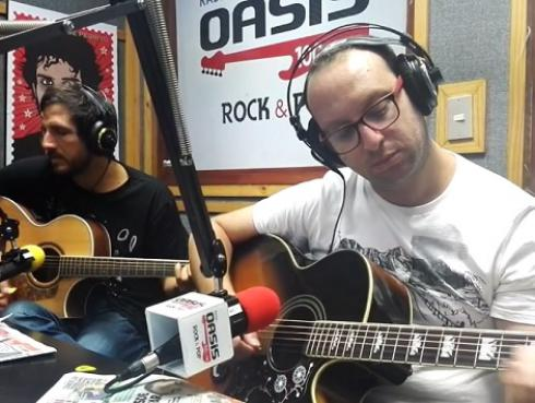 #Fogatera: El Marshall y Piccini interpretaron 'Zoom' de Soda Stereo [VIDEO]
