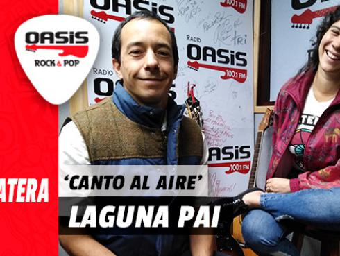 #Fogatera: Laguna Pai interpreta su nuevo single, 'Canto Al Aire', en Radio Oasis [VIDEO]