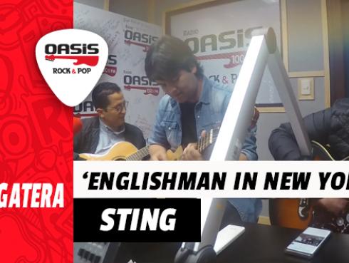 #Fogatera: Lucho Quequezana interpretó un tema de Sting junto al Marshall y Orozco (VIDEO)