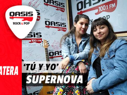 #Fogatera: Supernova interpreta 'Tú y Yo', en Radio Oasis [VIDEO]