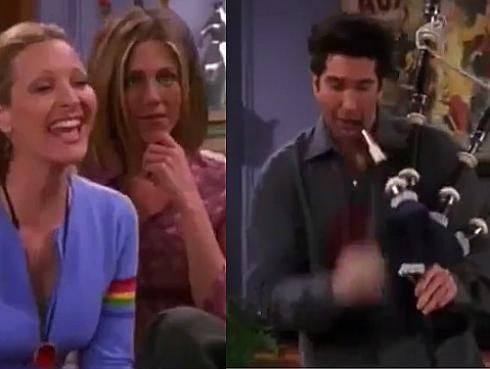 Friends: Este blooper de la serie es furor en Facebook