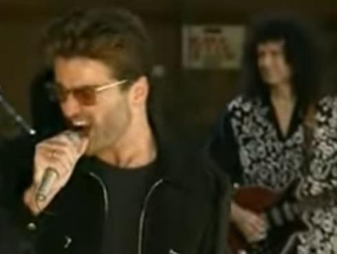¡George Michael y el día en que sorprendió a David Bowie! [VIDEO]