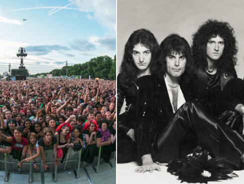 Escucha a 65 mil fans corear 'Bohemian Rhapsody', de Queen, en concierto de Green Day [VIDEO]