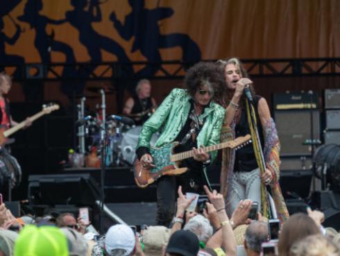 Guitarrista de Aerosmith habla sobre la posibilidad de un nuevo disco de la banda