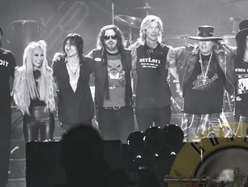 ¡Guns N´ Roses arrancó segunda parte de su gira! [VIDEO]