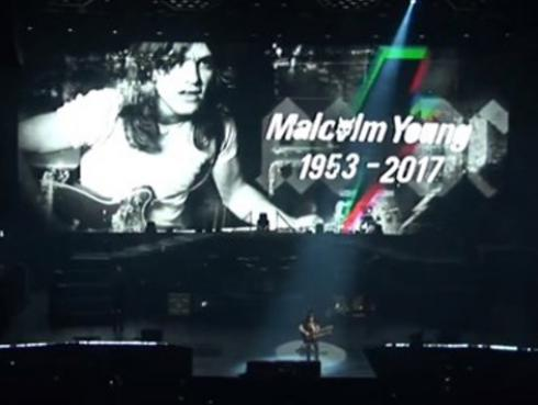Guns N' Roses rinde homenaje a Malcolm Young con 'Whole Lotta Rosie' de AC/DC [VIDEOS]