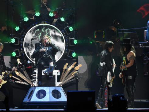 ¡Guns N' Roses está planeando un nuevo álbum, confirmó integrante de la banda!