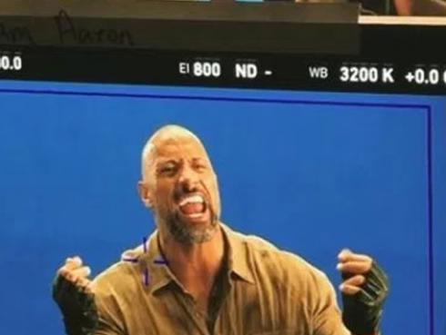 Dwayne 'The Rock' Johnson hizo sincronización de voz con 'Welcome To The Jungle' de Guns N' Roses [VIDEO]