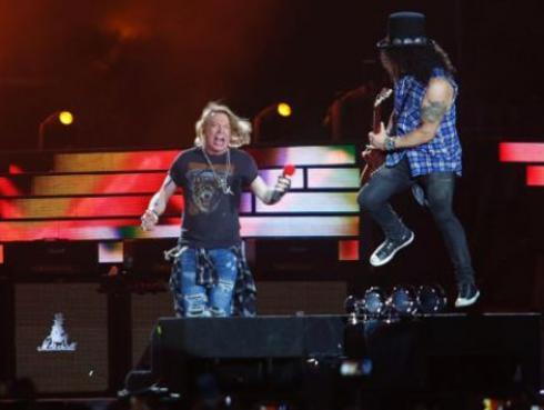 ¿Cómo es ser telonero de Guns N' Roses? Esta banda te lo cuenta [VIDEOS]