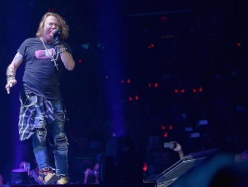 Guns N' Roses: Axl Rose quiere ver una mejoría en Estados Unidos
