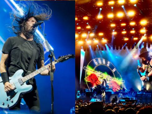 Guns N' Roses cantó 'It's so easy' con Foo Fighters [VIDEO]