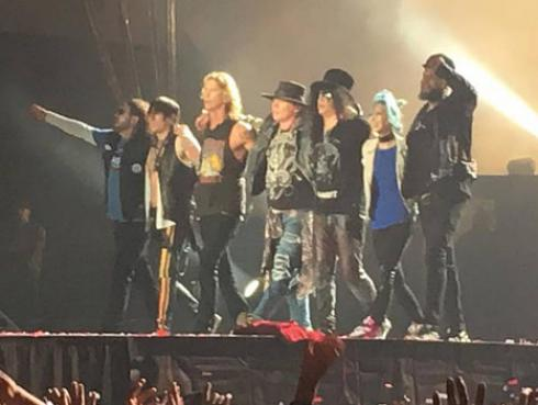 Guns N' Roses en Lima: ¡Revive el espectacular show en fotos y videos!