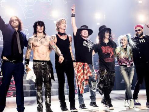 ¡Así se vivió el temblor que remeció Lima en pleno concierto de Guns N' Roses! [VIDEO]