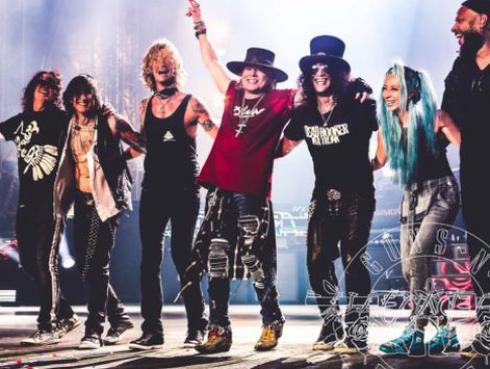 ¿Cuánto dinero ha recaudado Guns N' Roses hasta el momento en gira que incluye a Perú?