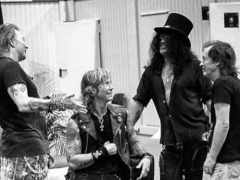 Guns N' Roses entre los 100 mejores pagados según Forbes