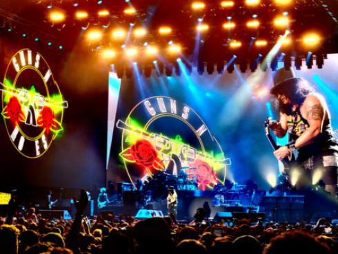 ¡Guns N' Roses tendrá el escenario más grande jamás visto en nuestro país!