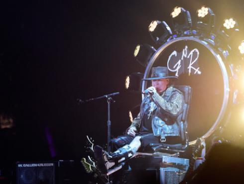 Gira de Guns N' Roses la segunda más lucrativa de la historia