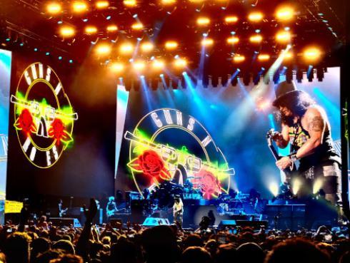 Guns N' Roses iniciará gira mundial en Latinoamérica