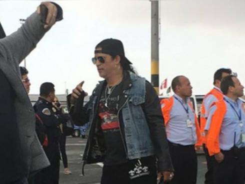 Así fue la llegada de Guns N' Roses a Lima [FOTOS Y VIDEO]