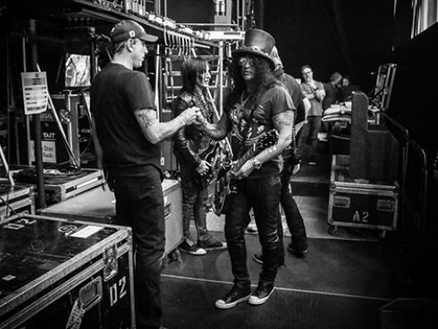 Guns N' Roses tocó 'Locomotive' después de 27 años