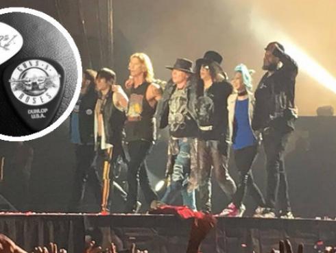 Guns N' Roses dejó 'sorpresitas' para fans peruanos en plena avenida de Lima [FOTO]