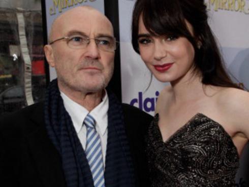 Hija de Phil Collins perdona a su padre y lo cuenta en carta pública