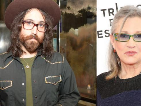 Hijo de John Lennon publica canción que escribió junto a Carrie Fisher [VIDEO]