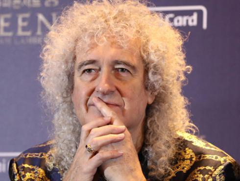 Hospitalizan al guitarrista de Queen