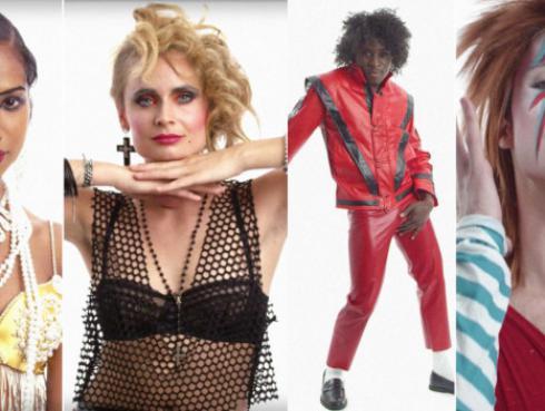 ¡Video muestra el cambio de los íconos del pop en el último siglo!