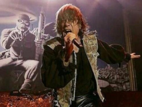 Iron Maiden: Bruce Dickinson es declarado ciudadano de honor por concierto en plena guerra