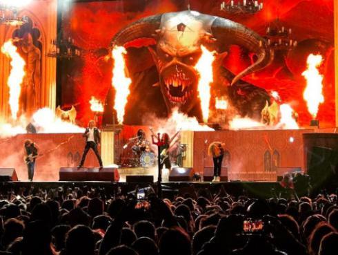 Iron Maiden y el documental que mostró su nueva identidad en 1990