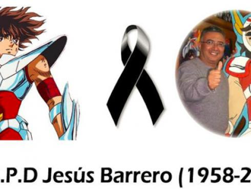 Murió Jesús Barrero, voz de 'Seiya' en Caballeros del Zodiaco