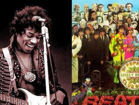 El día que Jimi Hendrix tocó una canción de The Beatles con ellos entre el público
