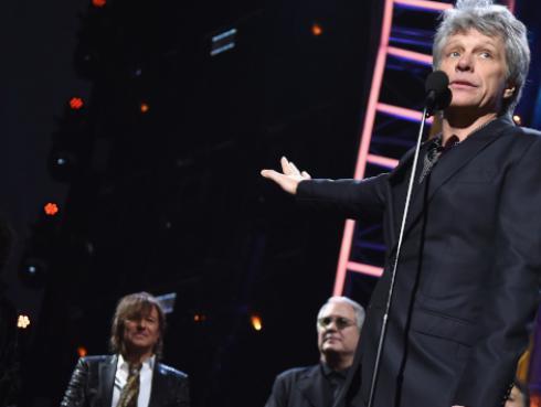 Jon Bon Jovi invitó a votar en las elecciones legislativas de EE. UU