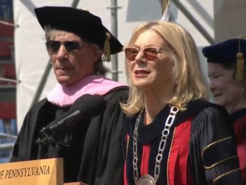 Jon Bon Jovi recibió título honorario de Doctor en Música por la Universidad de Pensilvania