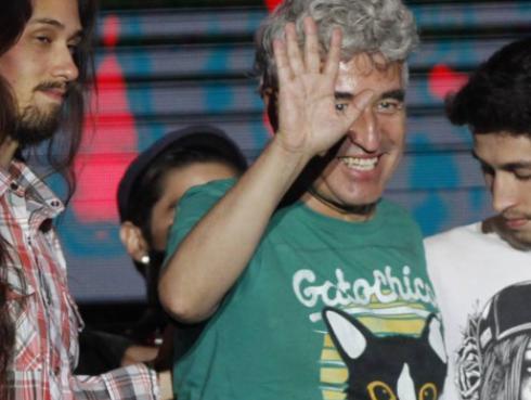 ¡Jorge González  se viene con libro, nuevo disco y película tras su retiro! [VIDEO]