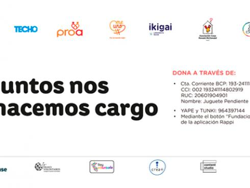 JUNTOS NOS HACEMOS CARGO: Organizaciones se unen para entregar kits de aseo para comunidades vulnerables